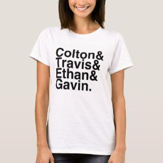 T-shirt Amis de livre - Colton Travis Ethan Gavin
