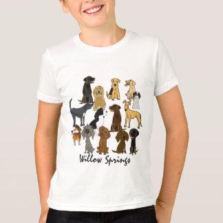T-shirt Amis de marche de ressorts d'AR-Saule