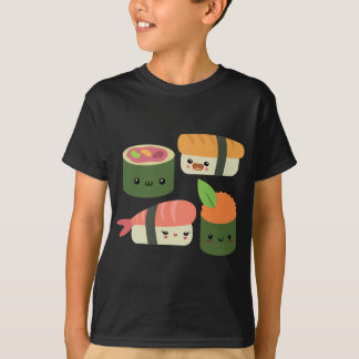 T-shirt Amis de sushi