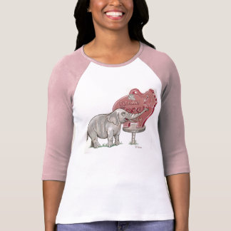 T-shirt amis d'éléphant