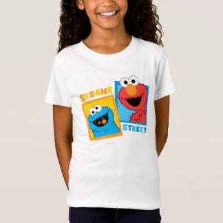 T-Shirt Amis d'Elmo et de monstre de biscuit
