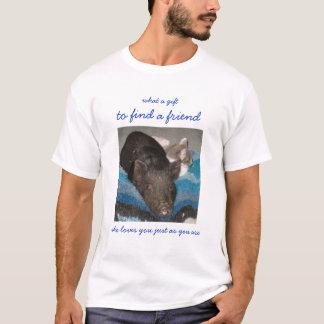 T-shirt amitié impaire