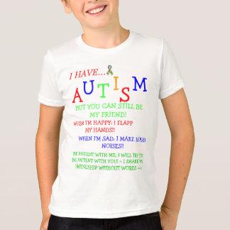 T-shirt amitiés ~Autistic de Friendz~Silent ! =)