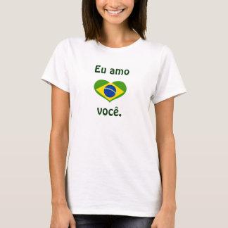 T-shirt AMO você. d'Eu