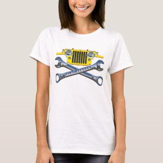 T-shirt Amortisseur plat très jaune de CJ2A