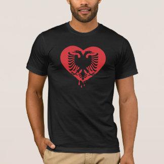 T-shirt Amour albanais