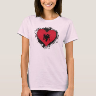 T-shirt Amour Albanie du cru I