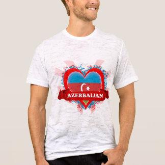 T-shirt Amour Azerbaïdjan du cru I