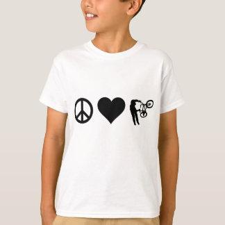 T-shirt Amour BMX de paix