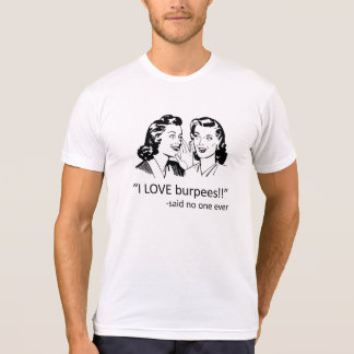 T-shirt Amour Burpees - blanc de CFNTX