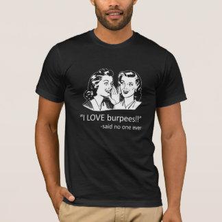 T-shirt Amour Burpees - noir de CFNTX
