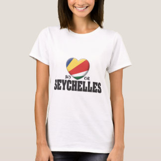 T-shirt Amour C des Seychelles