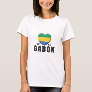 T-shirt Amour C du Gabon