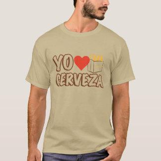 T-shirt Amour Cerveza de Yo