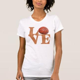 T-shirt Amour de basket-ball