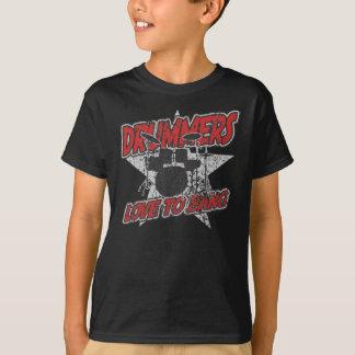 T-shirt Amour de batteurs au coup