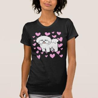 T-shirt Amour de Bichon Frise