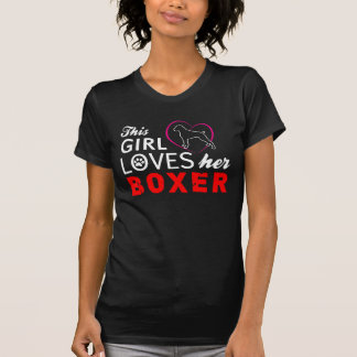T-shirt Amour de boxeur