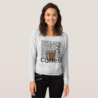 T-shirt Amour de café