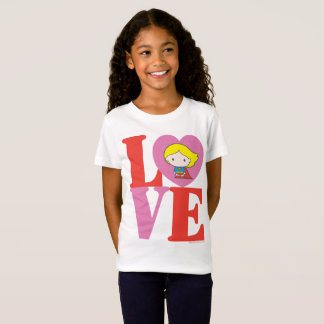 T-Shirt AMOUR de Chibi Supergirl