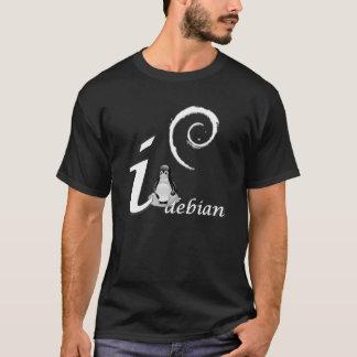 T-shirt Amour de Debian - thème frais de glace