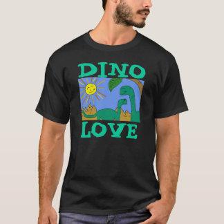 T-shirt AMOUR de DINO - les DINOSAURES d'AMOUR d'I pique