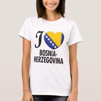 T-shirt Amour de la Bosnie-Herzégovine