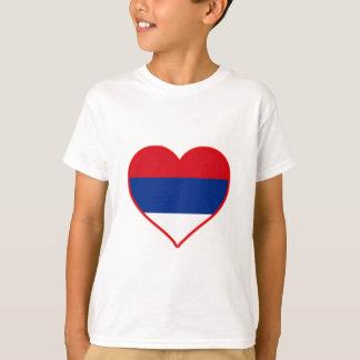 T-shirt Amour de la Serbie