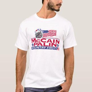 T-shirt Amour de McCain Palin ma partie
