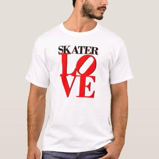 T-shirt Amour de patineur