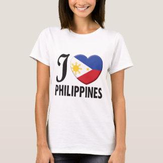 T-shirt Amour de Philippines