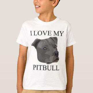 T-shirt Amour de PITBULL !