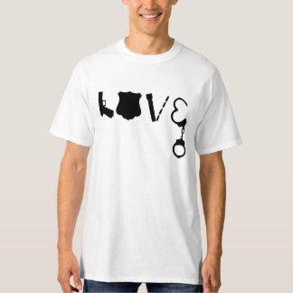 T-shirt AMOUR de police