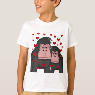 T-shirt Amour de singe