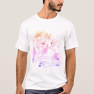 T-shirt Amour de Sonoma (arc-en-ciel Ombré)