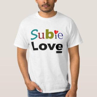 T-shirt Amour de Subie