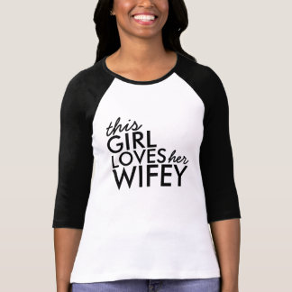 T-shirt Amour de Wifey