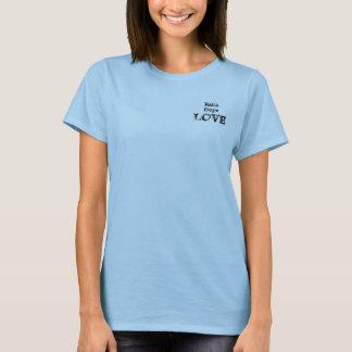 T-shirt Amour d'espoir de foi