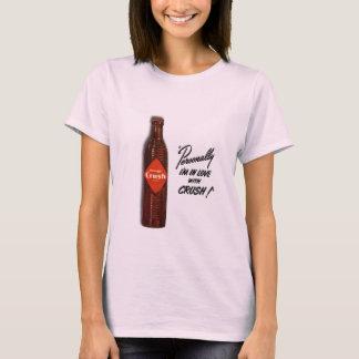T-shirt Amour d'orange pressée