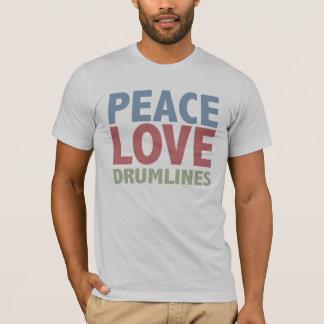 T-shirt Amour Drumlines de paix