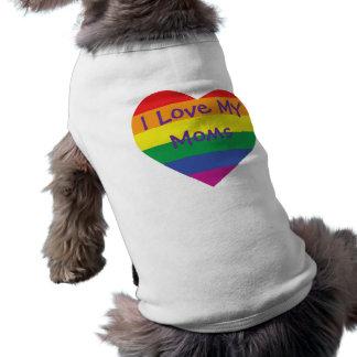 T-shirt Amour du jour de mère I mes mamans