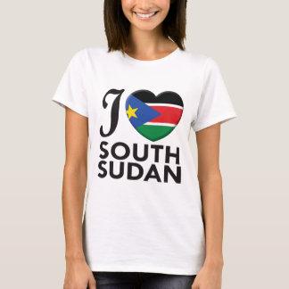 T-shirt Amour du sud du Soudan