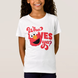 T-Shirt Amour Elmo