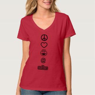 T-shirt Amour Elmo de paix