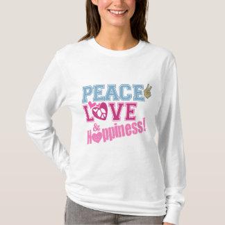 T-shirt Amour et bonheur de paix