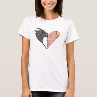 T-shirt Amour et cauchemars