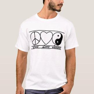 T-shirt Amour et équilibre de paix