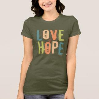 T-shirt Amour et espoir