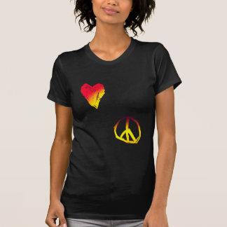 T-shirt amour et paix
