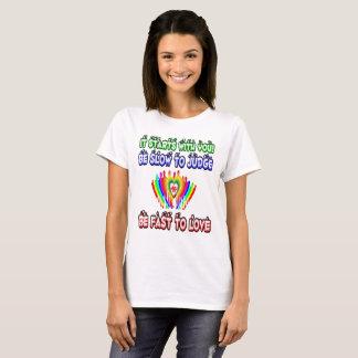 T-shirt Amour et respect